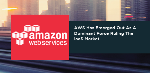 AWS Has Emerged Out As A Dominant Force Ruling The IaaS Market.